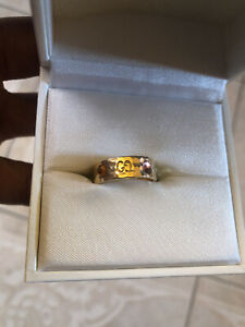 Gucci Colorful Gems Icon Ring