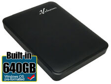 Avolusion 640GB USB 3.0 Portable External Hard Drive for Windows XP/Vista/7/8/10