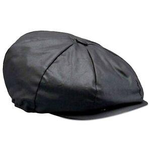Belstaff Hislop Wax Cotton Cap - Black