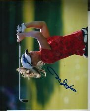 Kristy McPherson Autographed 8x10 Photo LPGA Golf Star IN PERSON