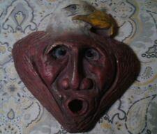 Handcrafted, Ceramic,  Decorative, Mask/ Plaque
