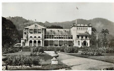 RPPC,Trinidad & Tobago,B.W.I.,Government House,Caribbean,1920s