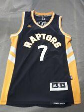 Adidas NBA Toronto Raptors Jersey Alternate Kyle Lowry Used Mens Med