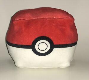 Nintendo Pokemon Square Poke Ball Plush Fluffy