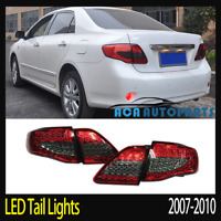 LED Tail Light Red Smoked For Toyota Corolla 2008-2009 ZRE152 Sedan Rear Lamp
