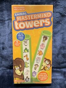 Pressman  Animal Mastermind Towers Game  Ages 6+ Brand NEW Sealed