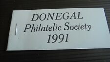 IRELAND 1991 DONGAL EXHIBITION  STAMP BOOKLET MNH