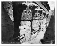 Capitals Of The Portico At The Temple Of Khnum Esna Egypt Silver Halide Photo