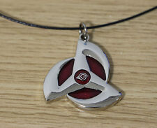Naruto Akatsuki Necklace Anime Cosplay The Wheel Eye Necklace Jewelry Gift-L28