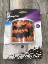 Energizer Halloween Night Light LED Sensor Automatic Black Bats Chevron