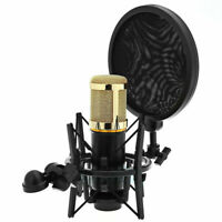 Universal Studio Sound Recording Microphone Mic Shock Mount Clip Clamp Holder