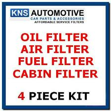 FIAT QUBO 1.3 Multijet Diesel 95bhp 10-15 Olio, Carburante, la cabina & Air Filter Service Kit