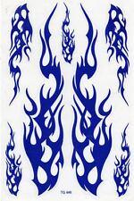 N-529 Flammen Feuer Aufkleber Sticker 1 Bogen 27 x 18 cm Racing Tuning
