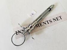 1 Aspirating Syringe Cw Type 18cc Dental Instruments