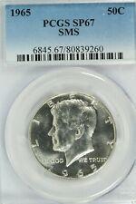 1965 SMS Kennedy Half Dollar : PCGS SP67