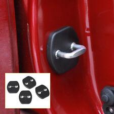 New 4Pcs Car Door Striker Cover for Nissan Tiida/Versa Qashqai X-Trail Murano