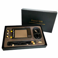 NanoVNA-H HF VHF UHF Vector Network Analyzer Antenna Analyzer 50K-1.5GHz + Case