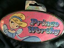Prince Worthy Cinderella Car Decal Disney Princess