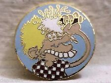 GRATEFUL DEAD EURO DEAD ORIGINAL ICE CREAM KID 1 inch DEAD RELIX PIN