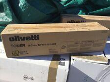 TONER  OLIVETTI D-COLOR MF451-551-651 GIALLO ORIGINALE