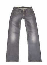 "Blue Denim LEE JINX Straight Stonewashed Stretch Women's Jeans Size W27"" L28"""