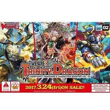 G-CHB02: We Are!!! Trinity Dragon Cardfight!! Vanguard G Character Booster Box