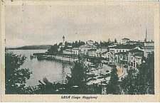 CARTOLINA d'Epoca NOVARA provincia : Lesa  1946