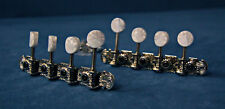 F Style Mandolin Tuners (Conventional) Nickel, Pearloid Buttons