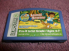 LEAP FROG LEAPSTER NICK JR GO DIEGO GO ANIMAL RESCUE CARTRIDGE 2007