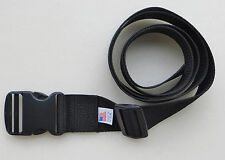 "BLACK BELT - 1 1/2"" X 60""  HEAVY POLY WEB with SIDE RELEASE BUCKLE"