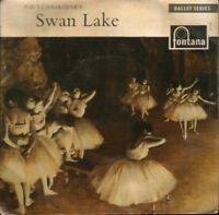 "KAREL ANCERL tchaikovsky swan lake 7"" PS EX/EX uk CFE15047"