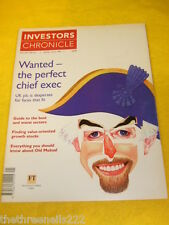 INVESTORS CHRONICLE - PERFECT CHIEF EXEC - MAY 28 1999