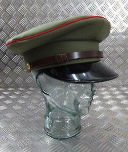 Genuine Ugandan 7 1/8 2nd LT Captain Officers Ceremonial Parade Dress Hat UGDH1