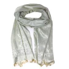 Casaba Womens Royal Elegant Formal Silk Feel Scarves Scarf Shawl Light Wrap