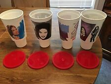 Selena Quintanilla Perez Circle K Cups Full Set New W/ Lids Last Set
