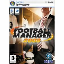 FOOTBALL MANAGER 2009 SEGA PC DVD-ROM FR COMPLET
