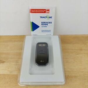 LG 442BG Tracfone Black Flip Phone Battery AC Adaptor New Open Box