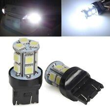Ampoules T20 LED W21/5 W Blanc 6500K 7443 Veilleuse de jour Feux de recul 2pcs