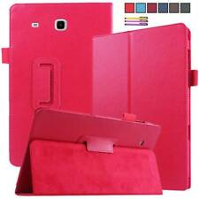 """For Samsung Galaxy Tab A E 3 4 S S2 8.0"""" 7.0"""" Tablet PU Leather Stand Cover Case"""