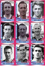 West Ham United 1950's vintage style Football Trading cards - Decades collection