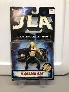 1998 DC Hasbro Justice League of America Aquaman Action Figure NEW