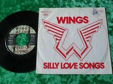 """Single 7"""" Paul McCartney & WINGS - Silly Love Songs"""