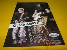 JOE SATRIANI & VAI - Publicité de magazine / Advert IBANEZ !!!!!!!!!