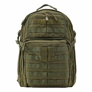 5.11 Tactical RUSH 24 Backpack Combat Military Day Rucksack - Tac OD