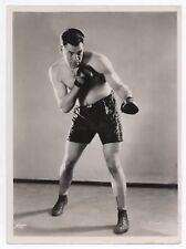 OLD PHOTO DE PRESSE Boxe Boxeur Los Reyes del Ring Studio Apeda Gants de boxe