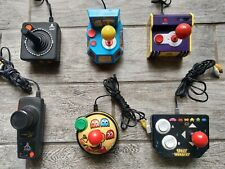 Lot of 6 JAKKS Pacific ARCADE Plug N Play, PAC MAN, SPACE INVADERS, NAMCO, ATARI