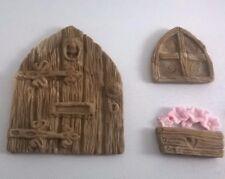 Fairy Princess Edible Garden Door  Cake Toppers