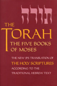 The Torah: The Five Books of Moses (Pocket Edition) by JPS (Paperback, 1999)