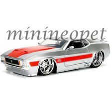 JADA 99971 BIGTIME MUSCLE 1973 FORD MUSTANG MACH 1 1/24 DIECAST MODEL CAR SILVER