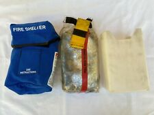 New Generation Forest Wildland Regular Fire Shelter 2015 With Blue Case Amp Shell